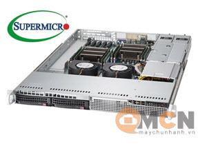 Chassis máy chủ (Server) SuperChassis 813LT-R500CB Rack 1U