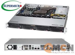 Chassis máy chủ (Server) SuperChassis 813MFTQC-505CB Rack 1U