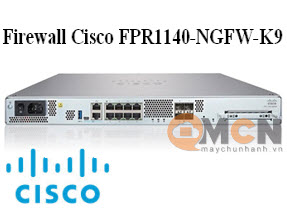 Cisco Firepower 1140 NGFW Appliance, 1U Firewall FPR1140-NGFW-K9