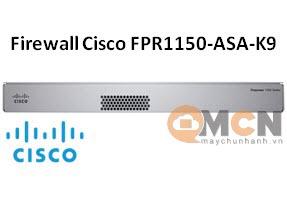 Cisco Firepower 1150 ASA Appliance, 1U Firewall FPR1150-ASA-K9