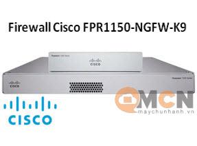 Firewall FPR1150-NGFW-K9 Cisco Firepower 1150 NGFW Appliance, 1U