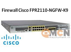 Firewall FPR2110-NGFW-K9 Cisco Firepower 2110 NGFW Appliance, 1RU