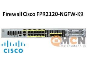 Cisco Firepower 2120 NGFW Appliance, 1RU Firewall FPR2120-NGFW-K9