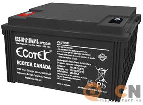 Ecotek 12V 120AH Ắc quy dùng cho Bộ Lưu Điện (UPS)