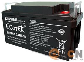 Ecotek 12V 65AH Ắc quy dùng cho Bộ Lưu Điện (UPS)
