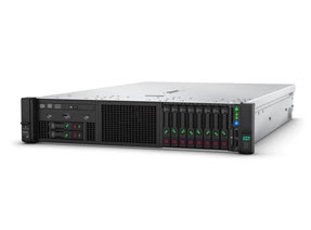HPE ProLiant DL380 Gen10 S4108 1.8GHz 1P 8C 16GB, 8SFF CTO Server