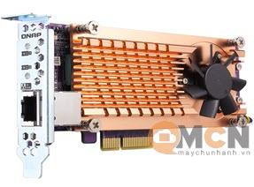 QM2 Card QNAP QM2-2P10G1TA Expansion Card PCIe 2280 M.2 SSD Slots
