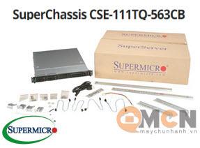 SuperChassis 111TQ-563CB vỏ case máy chủ (Server) Supermicro