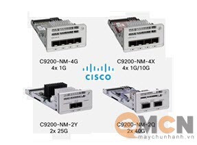 Mô Đun Mạng Cisco Catalyst 9200 2 x 40G Network Module C9200-NM-2Q