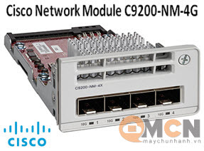 Cisco Catalyst 9200 4 x 1G Network Module C9200-NM-4G Mô Đun Mạng