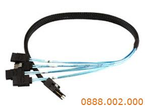 Cáp Cable Sas Máy chủ Server 1->4 Sata  (SFF-8087) 50cm