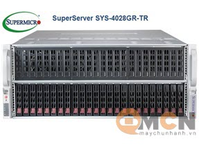 Máy Chủ Supermicro SuperServer System SYS-4028GR-TR Rackmout 4U