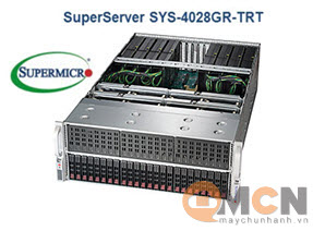 SuperServer System SYS-4028GR-TRT Máy Chủ Supermicro Rackmout 4U