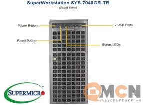 SuperWorkstation System SYS-7048GR-TR Máy Trạm Supermicro