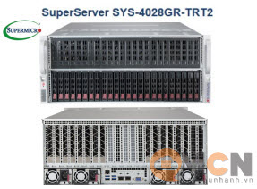 SuperServer System SYS-4028GR-TRT2 Máy Chủ Supermicro Rackmout 4U