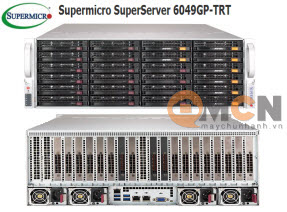Máy Chủ Supermicro SuperServer System SYS-6049GP-TRT Rackmout 4U