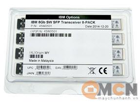Module Quang IBM SFP 8 Gbps SW 8-Pack Transceiver Server 45W0501