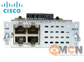 NIM-ES2-4 Cisco 4-port Layer 2 GE Switch Network Interface Module