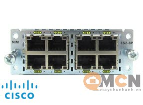 Cisco 8-port Layer 2 GE Switch Network Interface Module NIM-ES2-8