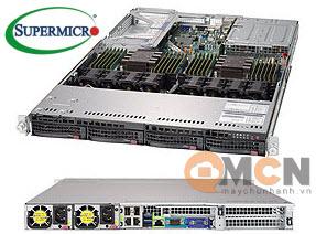 Máy Chủ Supermicro SuperServer System SYS-6019U-TRTP2 Rackmout 1U