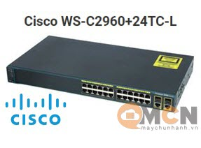 Cisco WS-C2960+24TC-L Catalyst 2960 Plus 24 10/100 + 2T/SFP LAN Base