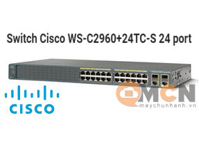 Cisco WS-C2960+24TC-S Catalyst 2960 Plus 24 10/100 + 2T/SFP LAN Lite