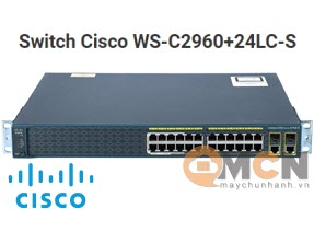 Cisco WS-C2960+24LC-S Catalyst 2960+ 24 10/100 (8 PoE) + 2T/SFP