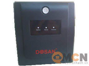 UPS DOSAN Offline 1000VA/600W Bộ Lưu Điện Smart PC-1000