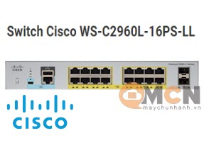 Cisco WS-C2960L-16PS-LL Catalyst 2960L 16 port GigE with PoE