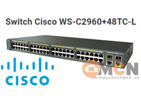 Cisco WS-C2960+48TC-L Catalyst 2960 Plus 48 10/100 + 2 T/SFP LAN Base