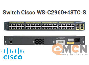 Cisco WS-C2960+48TC-S Catalyst 2960 Plus 48 10/100 + 2T/SFP LAN Lite