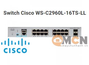 Cisco WS-C2960L-16TS-LL Catalyst 2960L 16 port GigE 2 x 1G SFP