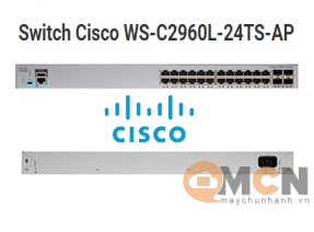Cisco WS-C2960L-24TS-AP Catalyst 2960L 24 port GigE 4 x 1G SFP LAN