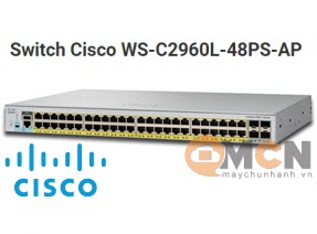 Cisco WS-C2960L-48PS-AP Catalyst 2960L 48 port GE with PoE, 4 x 1G SFP