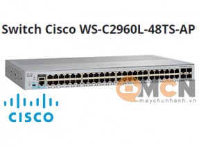 Cisco WS-C2960L-48TS-AP Catalyst 2960L 48 port GigE LAN Lite