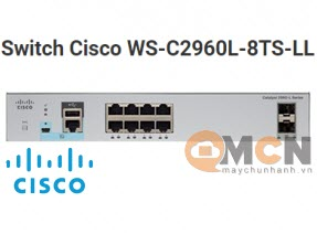 Cisco WS-C2960L-8TS-LL Catalyst 2960L 8 port GigE, 2 x 1G SFP LAN Lite