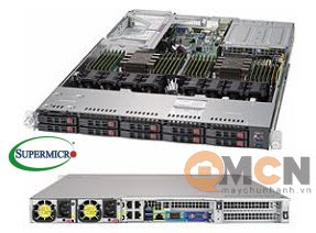 SuperServer System SYS-1029U-TRT Máy Chủ Supermicro Rackmout 1U