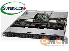 Máy Chủ Supermicro SuperServer System SYS-6019U-TR4 Rackmout 1U