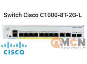 Switch Cisco C1000-8T-2G-L Catalyst 1000 8 port GE, 2x1G SFP