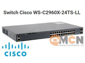 Cisco WS-C2960X-24TS-LL Catalyst 2960X 24 GigE, 2 x 1G SFP, LAN Lite