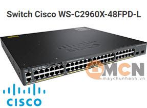 Cisco WS-C2960X-48FPD-L Catalyst 2960X 48 GigE PoE 740W, 2 x 10G SFP+