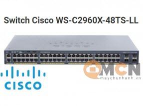 Cisco WS-C2960X-48TS-LL Catalyst 2960X 48 GigE, 2 x 1G SFP, LAN Lite