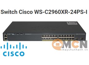 Cisco WS-C2960XR-24PS-I Catalyst 2960-XR 24 GigE PoE 370W, IP Lite