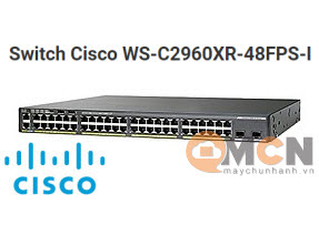 Cisco WS-C2960XR-48FPS-I Catalyst 2960-XR 48 GigE PoE 740W, 4 x 1G SFP, IP Lite