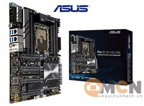 Mainboard Workstation Asus Pro WS C621-64L Sage Bo Mạch Chủ Máy Trạm