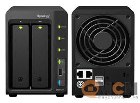 Thiết bị lưu trữ Storage NAS Synology DS712+ (HDD/SSD) 2 Bay