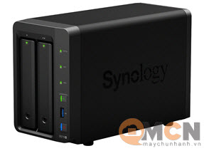 Thiết bị lưu trữ Storage NAS Synology DS716+ (HDD/SSD) 2 Bay
