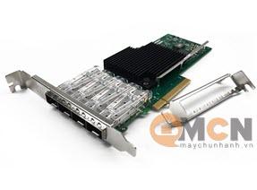 Network Adapter Intel X710-DA4 Quad Port 10GbE SFP+ Card Mạng Máy Chủ