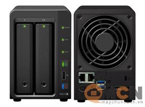 Storage NAS Synology DS214+ (HDD/SSD) 2 Bay thiết bị lưu trữ