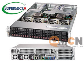 SuperServer System SYS-2029U-TR25M Máy Chủ Supermicro Rackmout 2U